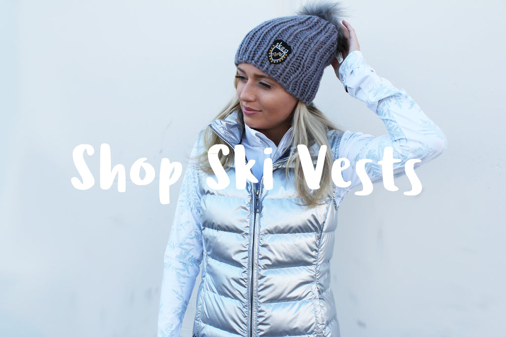 Luxury skiwear fashion outerwear vest