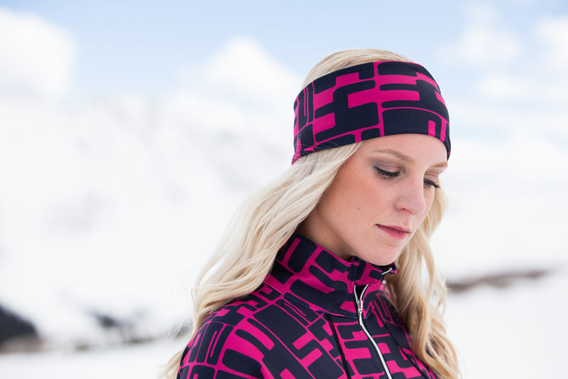 ski jackets, ski pants, luxury skiwear, ski apparel, ski fashion, fur ski apparel, fur trim, Elsa Headband, Skea Limited, Skea Limited - Skea Limited