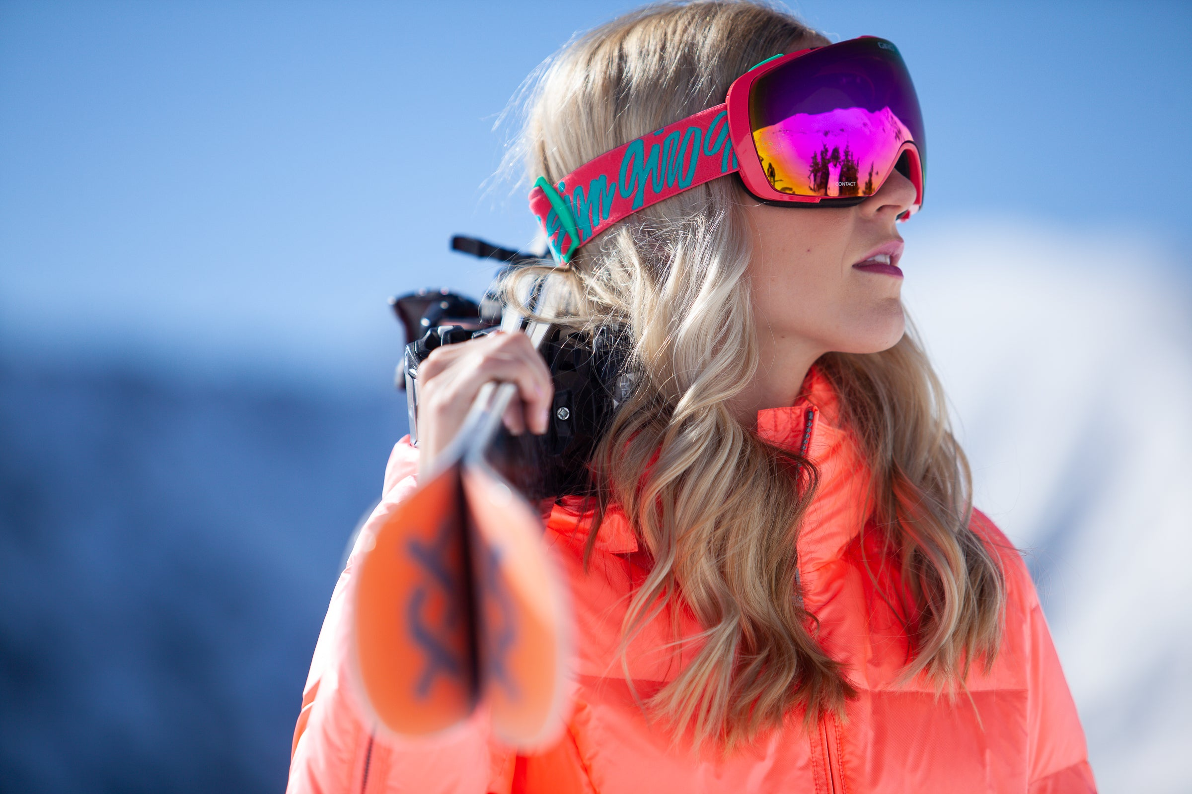 ski jackets, ski pants, luxury skiwear, ski apparel, ski fashion, fur ski apparel, fur trim, Eve Jacket, Skea Limited, Skea Limited - Skea Limited