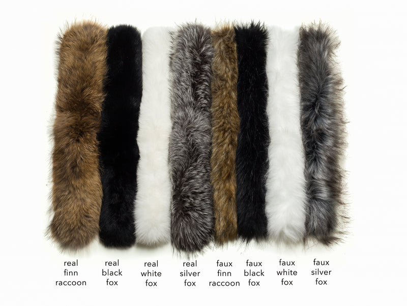 ski jackets, ski pants, luxury skiwear, ski apparel, ski fashion, fur ski apparel, fur trim, Faux White Fox Fur Border, Skea Limited, Skea Limited - Skea Limited