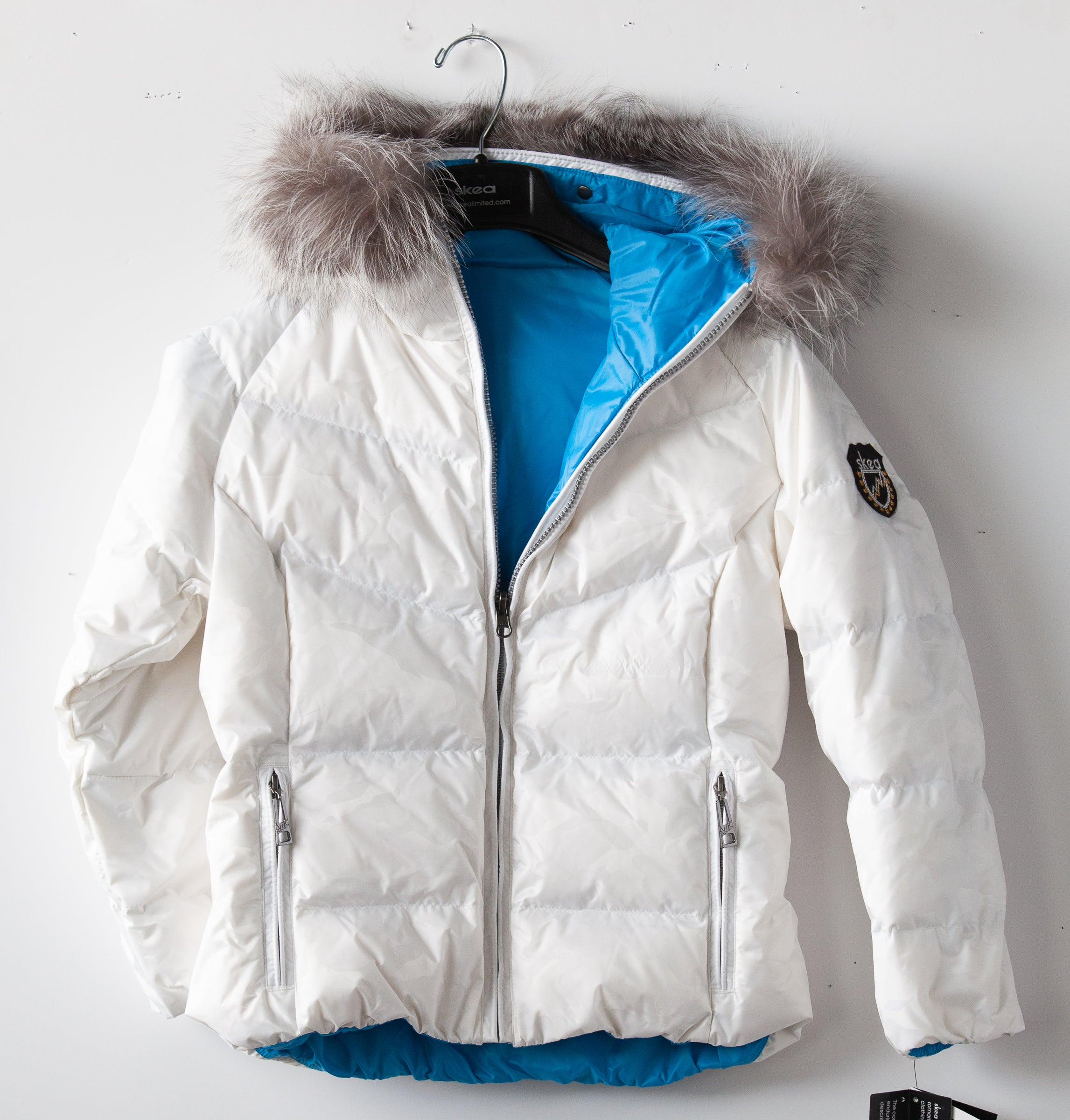 ski jackets, ski pants, luxury skiwear, ski apparel, ski fashion, fur ski apparel, fur trim, Little Miss JAVA PARKA, Skea Limited, Skea Limited - Skea Limited