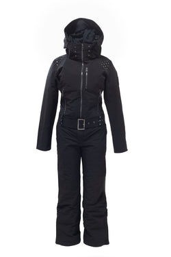 ski jackets, ski pants, luxury skiwear, ski apparel, ski fashion, fur ski apparel, fur trim, Suzi One Piece Suit, Skea Limited, Skea Limited - Skea Limited