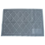 Cat Litter Box Mat - Extra Large - Traps Kitty Litter - Gray - By Two Meows