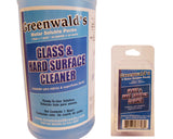 Glass Cleaner 32 oz (6-Pack) Liquid Concentrate For Home & Auto By Greenwald's