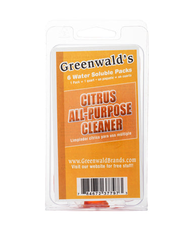 All Purpose Cleaner & Degreaser (6-Pack) Liquid 32 oz by Greenwald's