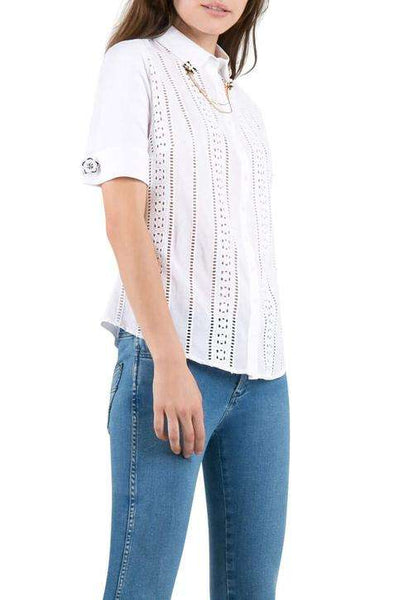 T-Blouse Muscade short sleeve Anne Fontaine