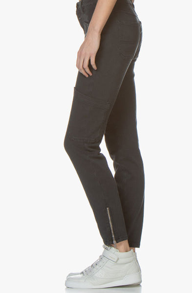 Abby Slim-fit Jersey Pants CLOSED