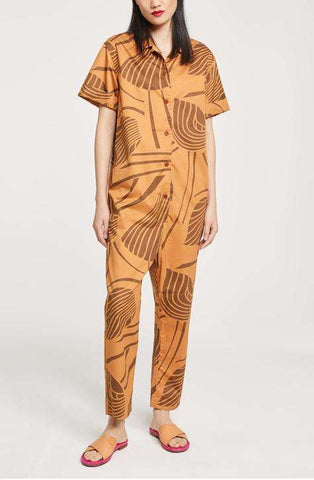 CLOSED Women's Jumpsuit Caramel C91303
