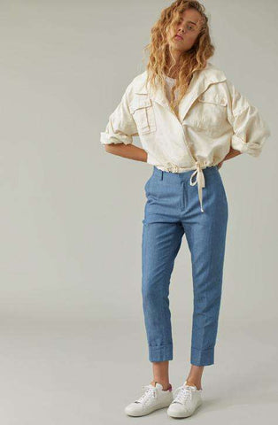 Pant Stewart Mid Blue CLOSED