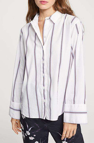 Striped Shirt Blouse Tori CLOSED