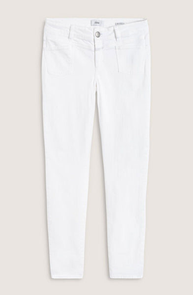 Pants Pedal X Cotton White Closed