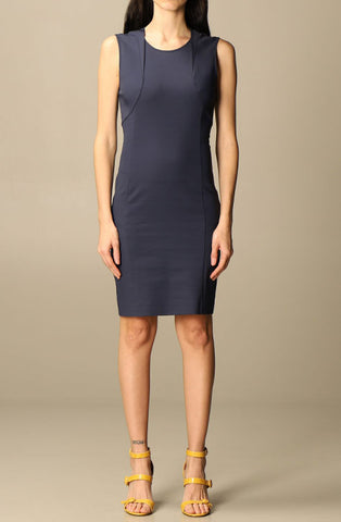 Navy Dress by Patrizia Pepe