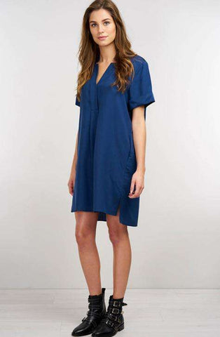 Repeat Dress Dark Blue