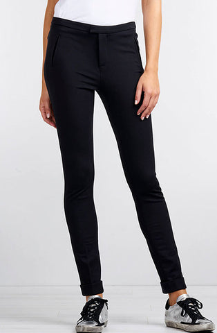 Black trousers | cigarette pant's. Repeat Cashmere Women's clothing at our digital Boutique Affairedefemmes.net