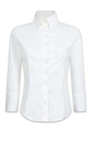 Shirt Connie 3/4 Sleeves White AF