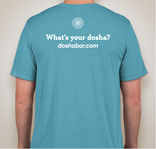 Unisex Dosha® Bar T-Shirt Vata Dosha (Super SOFT, Crew Neck)