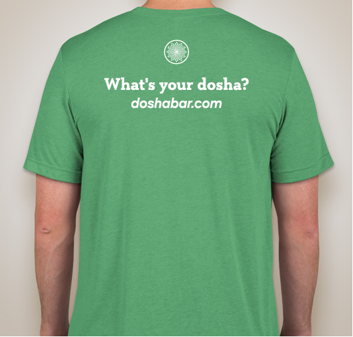 Unisex Dosha® Bar T-Shirt Kapha Dosha (Super SOFT, Crew Neck)
