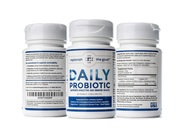 Replenish The Good Daily Probiotic