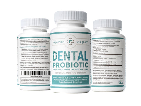 Replenish The Good Dental Probiotic