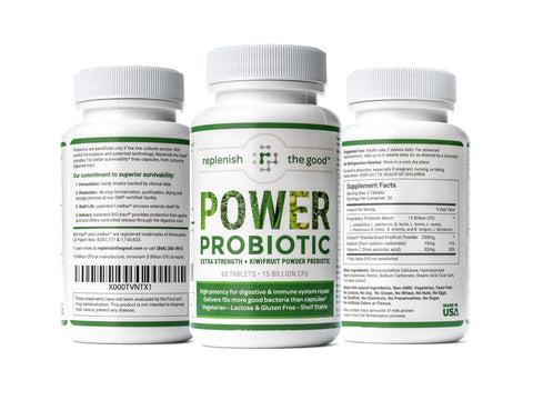 Replenish the Good Power Advanced Strength Probiotic