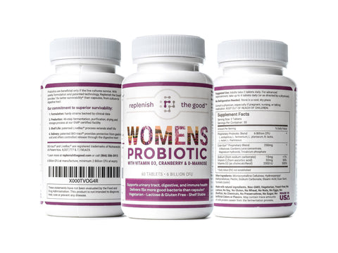 Replenish The Good Womens Probiotic