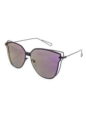 Metal Wing Butterfly Sunglasses - ARUZE BOUTIQUE
