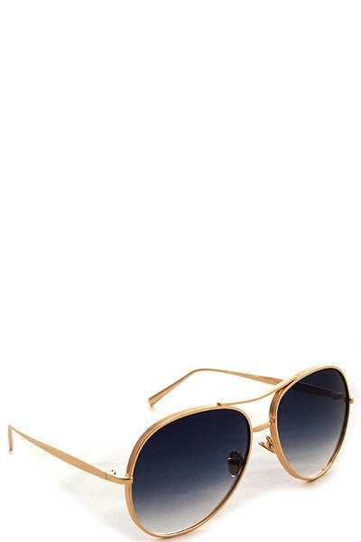 Retro Thick Frame Sunglasses - ARUZE BOUTIQUE