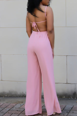 Pink Lemonade Jumpsuit - ARUZE BOUTIQUE