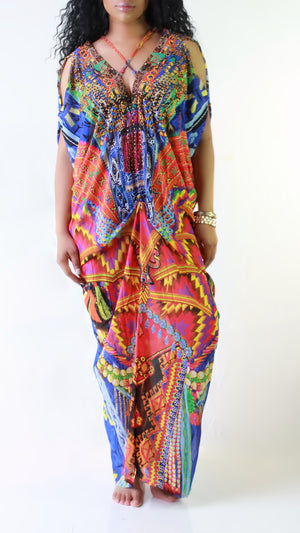 Marilyn Maxi Dress - ARUZE BOUTIQUE