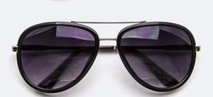 Thick Frame Aviator Sunglasses