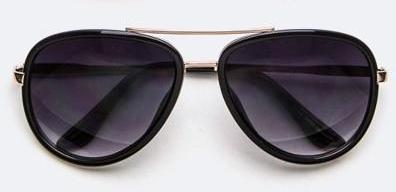 Thick Frame Aviator Sunglasses - ARUZE BOUTIQUE