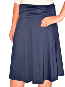 Kosher Ruched Waist Skirt Style 1480 - The Skirt Boutique