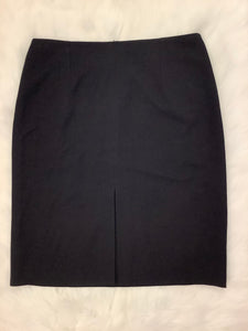 Black Office Skirt Style 386-1