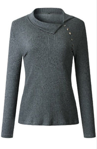 Grey Sweater Style 211279
