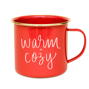 Warm & Cozy Campfire Coffee Mug