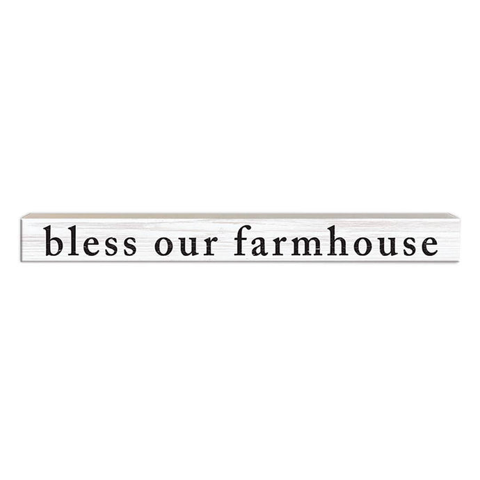 Bless Our Farmhouse | Wood Sign