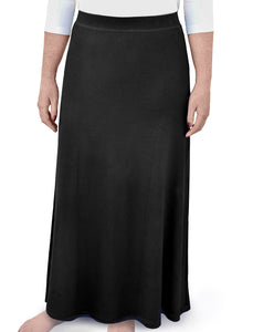 Black Maxi Skirt for Girls style 1468 - The Skirt Boutique