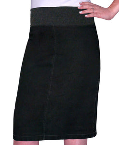 Girls Denim Pencil Skirt style 1490 - The Skirt Boutique
