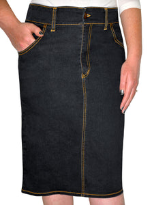 Girls Denim Skirt style 1482 - The Skirt Boutique