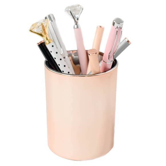 Rose Gold Pencil Holder PN022 - The Skirt Boutique