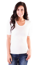Essential Half Sleeve Tee - The Skirt Boutique