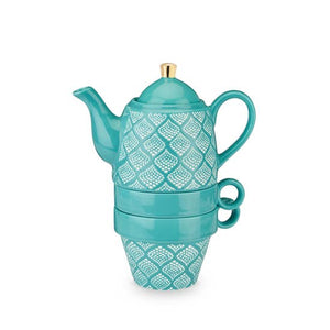 Taylor™ Bali Turquoise Tea for Two by Pinky Up®