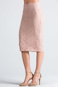 Lace Pencil Skirt Style 22099 - The Skirt Boutique