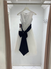 Girl dress blue ribbon 411 - The Skirt Boutique