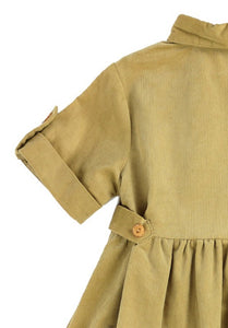 Corduroy Dress Style 717 in Camel