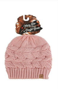Beanie Style 164 in Blush, Mint or White