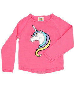 Unicorn Sweater Style 919 in Pink