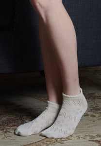 Ancle Socks 4125 in Ivory