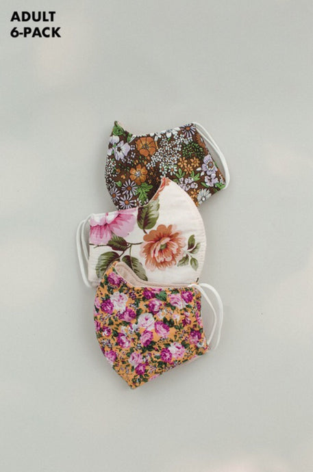 Floral Face Mask Style 1000