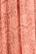 Lace Dress Style 9092 in Peach or Ivory - The Skirt Boutique
